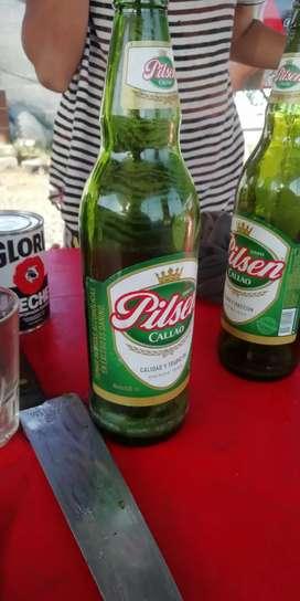 Vendo 8 cerveza Pilsen en caja 55 Arequipeña 50