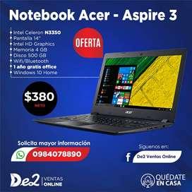 Notebook Acer- Aspire 3