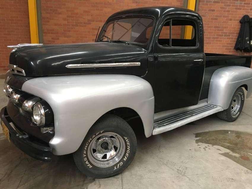 Ford pick up 51 restaurada