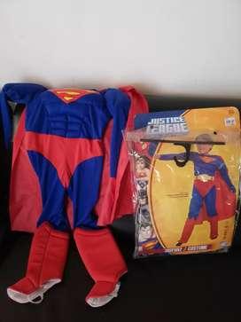 Disfraz de Super man talla 4