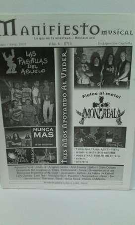 Fanzine Manifiesto nro.14 2005