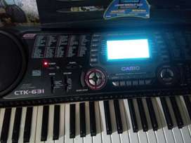 teclado casio ctk631