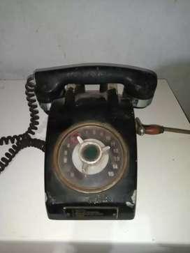 Telefono de barco antiguo
