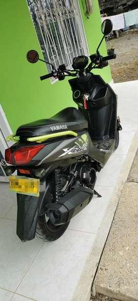 Vendo hermosa moto bws