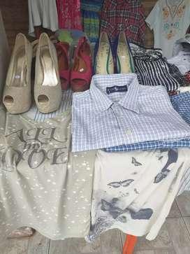 Vendo ropa de dama caballero y niños