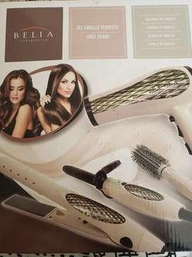 Kit de cabello secador plancha ondulador