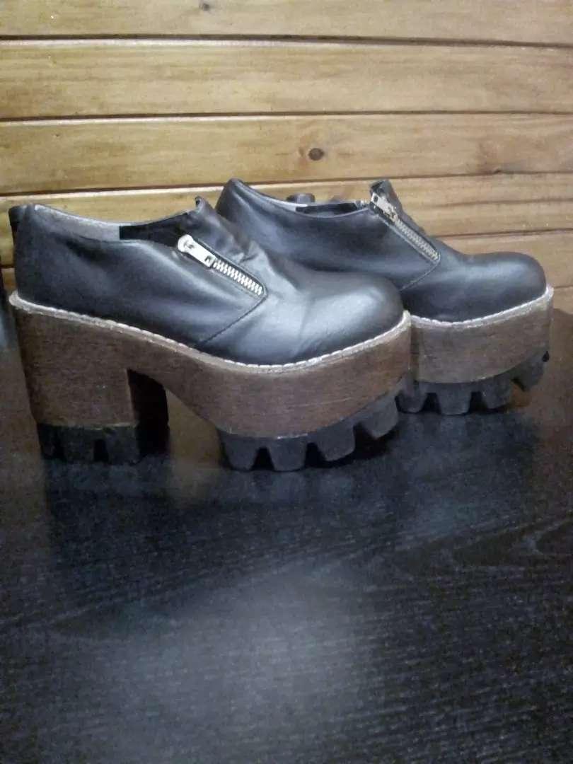 Zapatos plataformas altas talle 36 (300) 0