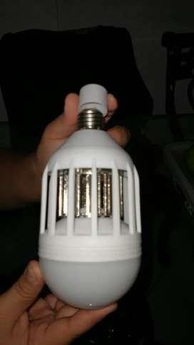 lámparas LED mata zancudos