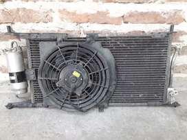 Condensador, ventilador y filtro de corsa