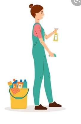 Ayudante de limpieza