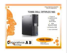 Torre Dell Core i3 primera generación