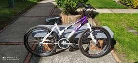 Bicicleta Rin 24 para niña