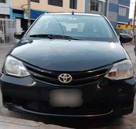 Toyota etios GLp 5ta