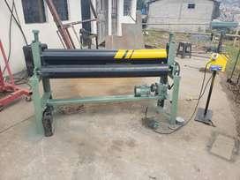 Dobladora, Roladora de tool cap. 4 m.m. con motor