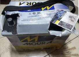 Batería para auto Moura 12x65 nafta gnc nueva 1 hora de uso