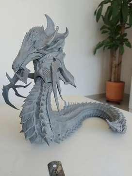 Escultura de Starcraft 2