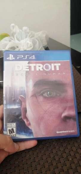 VENDO DETROIT PS4 COMO NUEVO $44.900