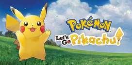 Juego Pokemon Let´s Go Pikachu Para Nintendo Switch + Obsequio