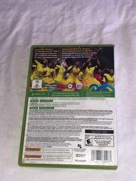 Se Vende Juego De Xbox 360 Fifa World Cup Brazil