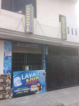 Se Vende una Lavandería con buena clientela en la Av. Los Paltas