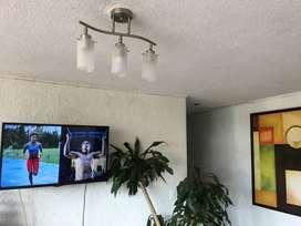 Lampara 3 luces para sala o comedor