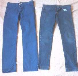 Vendo Jeans chupines usados talle 35