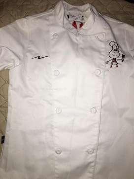 Disfraz o uniforme Chef  4-6 años