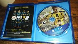 Vendo o Cambio Juego PS4 FIFA 17 whatssap 76390872