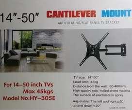 Base soporte para televisor plegable giratoria 14'' a 50'' MAX 45 kg