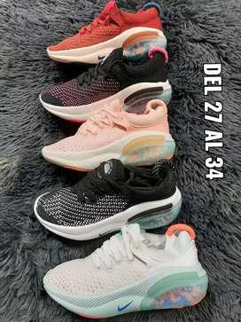 Tenis Nike joyride Niños