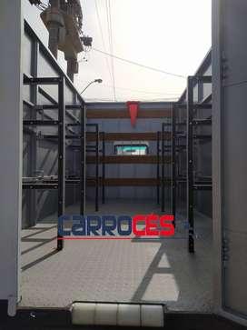 Venta y fabricación de carrocería porta balón para cualquier tipo de camión.
