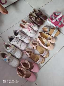 Vendo calzado de niña