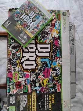 Consola DJ HERO + Juego Original Xbox-360 Cambio por otro artículo