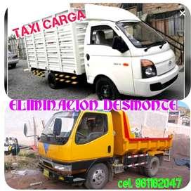 full eliminación de desmonte y taxi carga