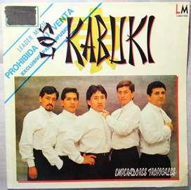 disco vinilo Los Kabuki emperadores tropicales