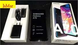 Samsung a70 en caja