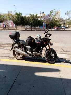 Vendo moto keenway rkv 200