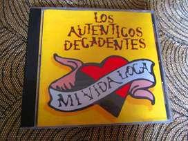 CD ORIGINAL AUTENTICOS DECADENTES.