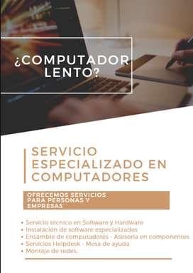 Servicio Mantenimiento de computadores REMOTO - DOMICILIO