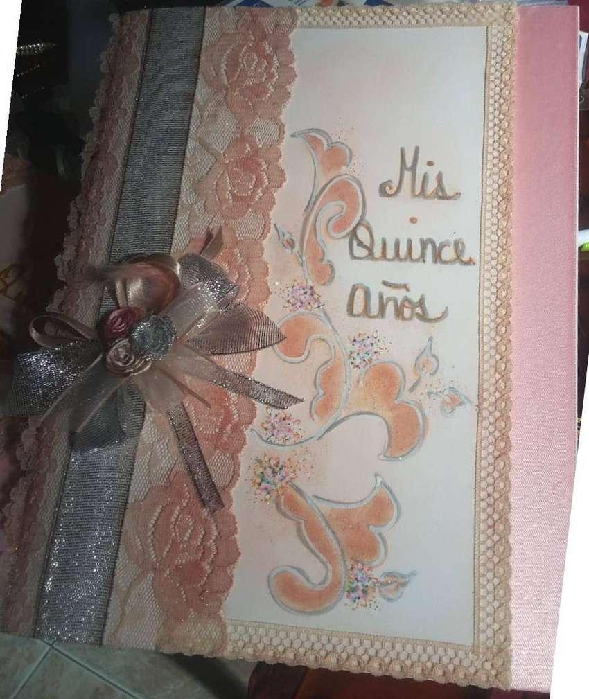 Libro Quinces + Pluma Lapicero, colores Varios, Boda Etc