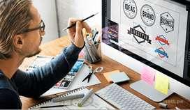 Diseñador Gráfico, domine posteo de cursos en redes sociales. O, estudiante con práctica intensiva en la materia