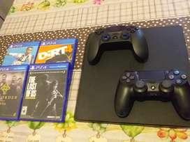 VENDO PS4 impecable 1Tb de Memoria, acepto tarjeta