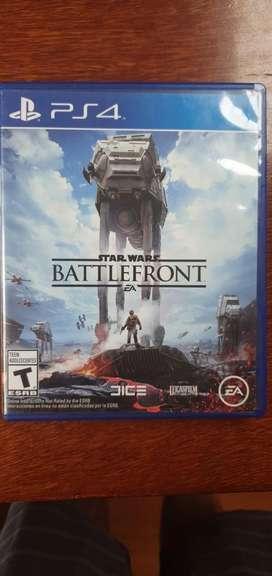 Juego Ps4 Star Wars battlefront