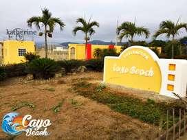 HERMOSOS LOTES PLAYEROS EN LOTIZACIÓN PRIVADA CAYO BEACH 200M2 A 6000 USD | SD2