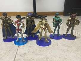 Set de figuras de Caballeros del Zodiaco