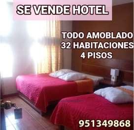 VENDO HOTEL CERCA AL TERMINAL TERRESTRE-FERIA LOS INCAS