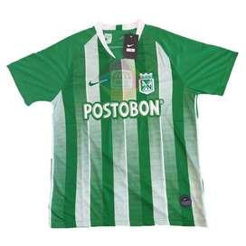 Hoy! Camiseta Atlético Nacional Temporada Hombre Titular 20192020