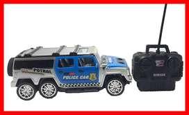 carro con mando a distancia Carros Hummer de pólice Regalos de Navidad para niños carro a control remoto 00258