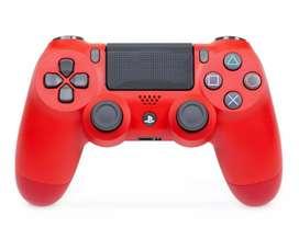 Palanca dualshock PS4 Nueva original Color ROJO