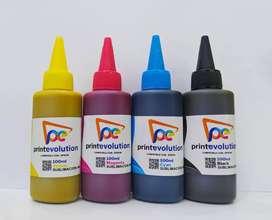 Combo x 4 Botellas de tinta para Sublimación Generica x 100 ML